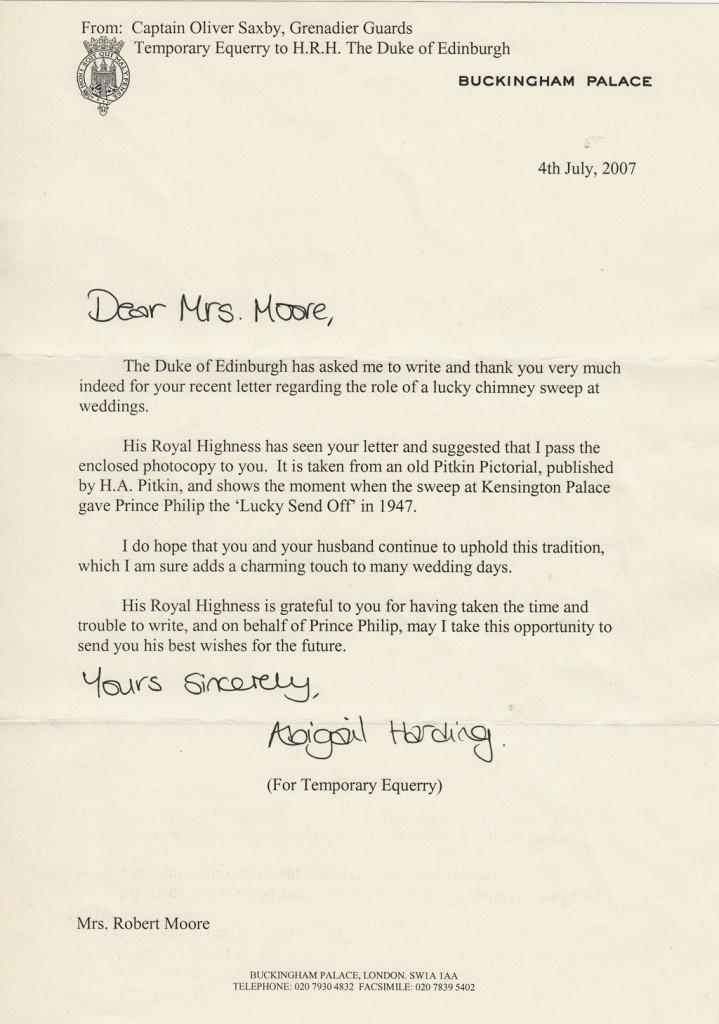 Royal Letter