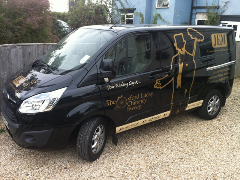 Jem Chimney Sweep Van 1